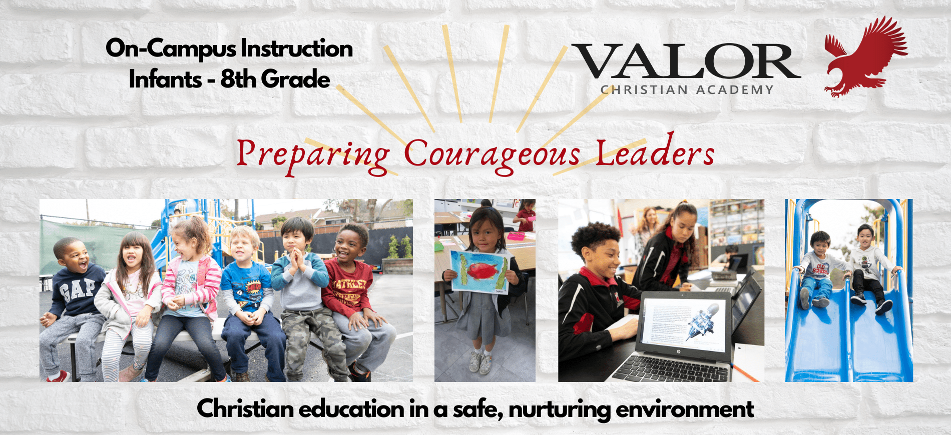 Valor Christian Academy Now Enrolling