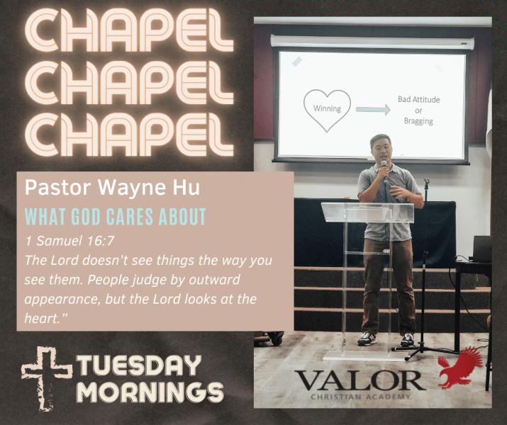 Chapel Speaker Wayne Hu